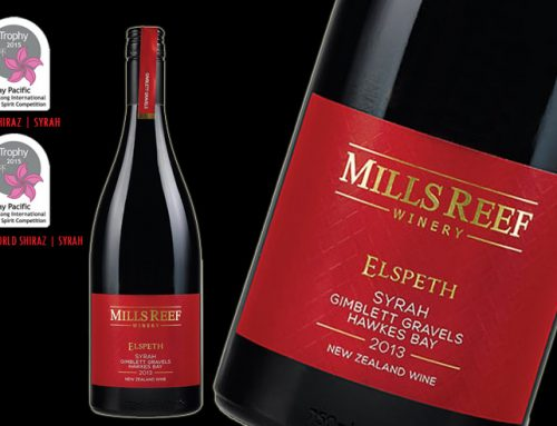 Mills Reef  Elspeth Syrah takes 2 TROPHIES at HKIWSC 2015