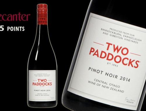 Two Paddocks Pinot Noir: Decanter 95 points