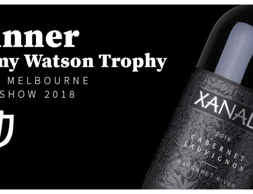 XANADU'S CABERNET SAUVIGNON WINS AUSTRALIA'S MOST COVETED AWARD!